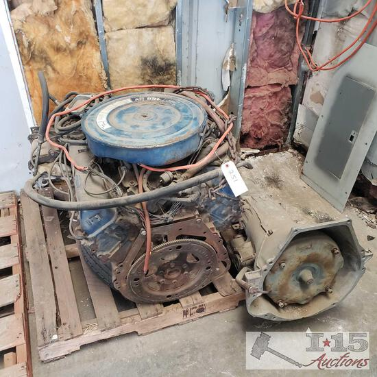 Ford 400 engine and transmission
