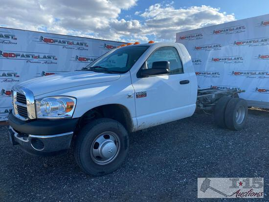 2007 Dodge Ram 3500 Cab and Chassis- DEALER OR OUT OF STATE ONLY