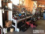 Husky Tool Set, New Master Locks, Sockets, Hammers, Screw Drivers, Gloves