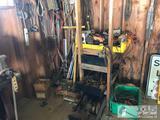 48? Drywall T-Square, 1? Air Impact, Angle Grinder, Heat Gun, Drills, Jigsaws, Power Shears