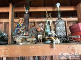 Decorative Lamps, Decorative Scale, Statue