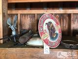 Wind Vein, Vintage Seat, Sleepy Eye Mills Sign, Scale