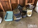 Pots, Pans and Porcelain Buckets