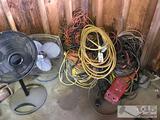 Power cords, Portable Fans