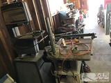 Craftsman 12in Bandsaw, Delta Table Saw, Craftsman Drill Press Attachment