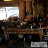 Huge lot of various drill bits, hardware, and more!