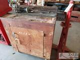 Allen Tool Box with Puller and Pittsburgh Portable Tire Changer