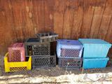 Milk Crates and Totes