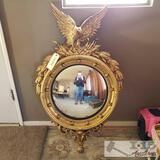 Convex Mirror with Frame
