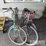 3 various bicycles