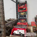 Approx. 11 1:18 model cars