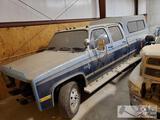 1984 Chevrolet C30 No Motor