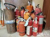 12 Fire Extinguishers