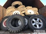 Trailer tires, car tires, Tractor Tires