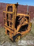 Antique Stand Up Fork Lift