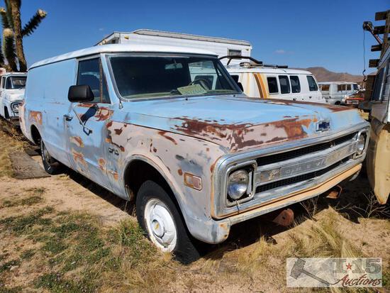 1969 Chevy C10 Panel
