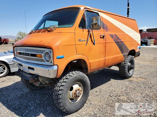 1973 Dodge B10 4x4 Cummins Turbo Diesel