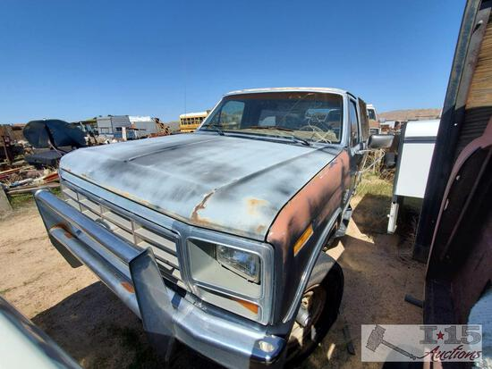 1986 Ford F250 4WD