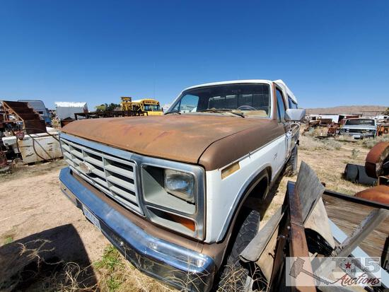 1984 Ford F250 No Motor Includes Set Of Heads
