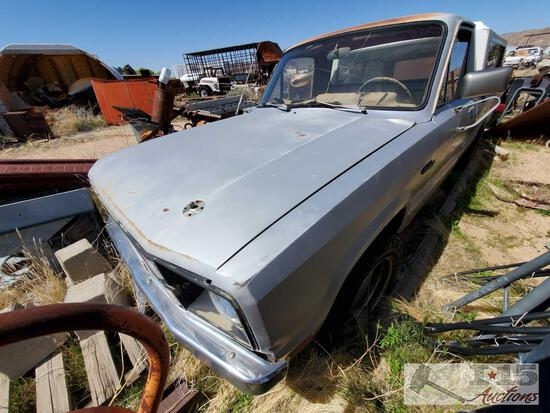1979 Ford Courier (Key In Ignition)
