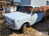1968 Fiat 850 Idroconvert