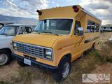 1991 Ford Econoline School Bus 7.3l Diesel (Locked)