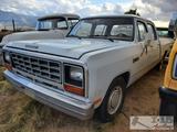 1985 Dodge Ram D350 Crew Cab Short Bed