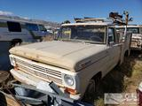 1968 Ford F100 with Service Bed