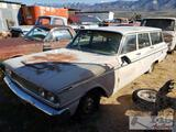 1963 Ford Fairline Ranch Wagon