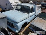 1964 Ford F-250 (Key in ignition)
