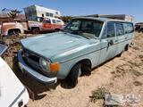 1973 Volvo 4 Door Hatchback(Key In Ignition)