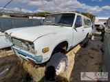 1976 Datsun 4x4 Single Cab Truck (Key in ignition)
