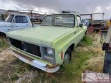 1979 Chevy C10 Stepside Truck (Key in Ignition)