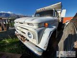 1962 Chevy C60 Dump Truck