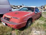 1990 Chrysler LeBaron GTO