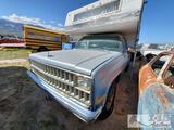 1982 Chevrolet C20 6.2L Diesel
