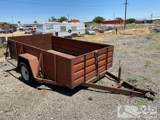 1983 MLBLT 10? Single Axle Tilt Trailer