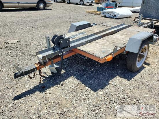 5' Single Axle Trailer Axle