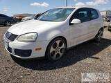 2009 Volkswagon GTI, DEALER OR OUT OF STATE BUYER ONLY