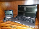 Toshiba Laptop and Sony DVD Player