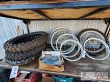 Dirt Bike Wheels, Tires, and Spokes