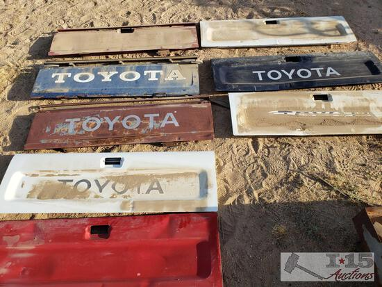 8 Toyota Pick Up Tailgates