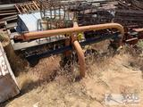 Tractor auger implement