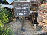 Vintage Service Sign