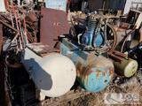 1 Air Compressor and 1 Tank