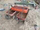 3 Vintage Wagons