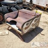 Custom Metal Seat
