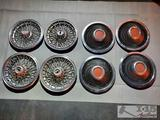 2 Sets Of Wheel Covers and Hub Cap