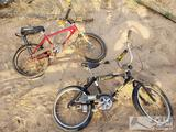 2 Vintage BMX Bikes, Huffy and Murray