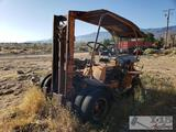 Forklift with Inline 6 Engine